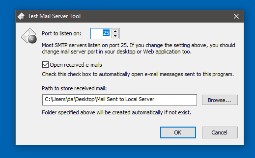 Mail und Xampp – Test Mail Server Tool – eKiwi de