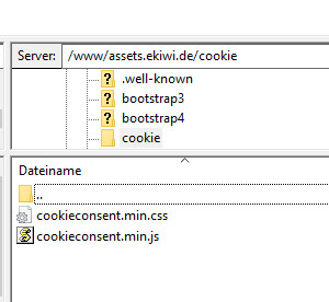 Html Cookie Hinweis